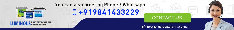Luminous Battery Inverter Chennai Contact Details